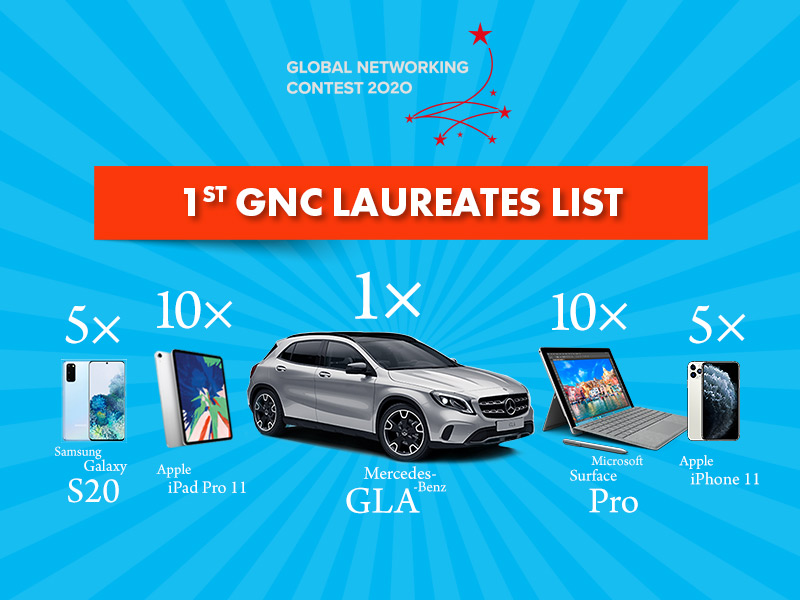 1st GNC Finale – list of laureates